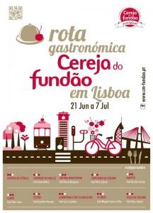 Rota Gastronómica da Cereja do Fundão em Lisboa